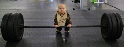 baby-lifting-weights