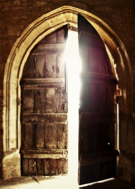 door & Those Mysterious Open Doors . . .   DestinyHighway.com