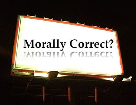Billboard - Morally Correct