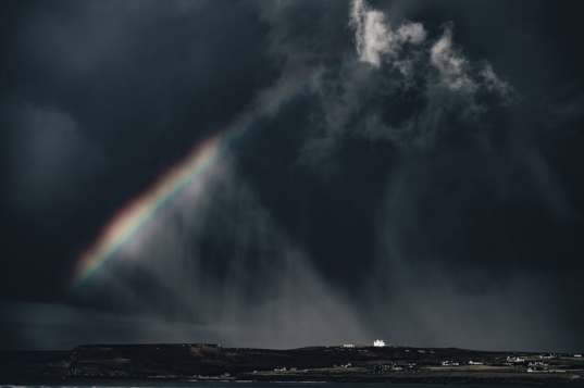 Rainbow in Storm - FREE
