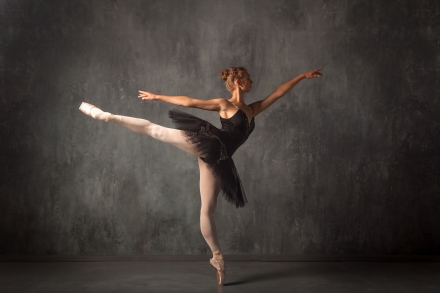 FREE Canva - Ballerina Woman Pose