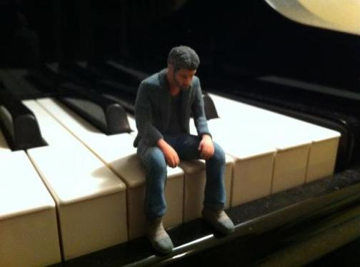 Toy Man on Piano